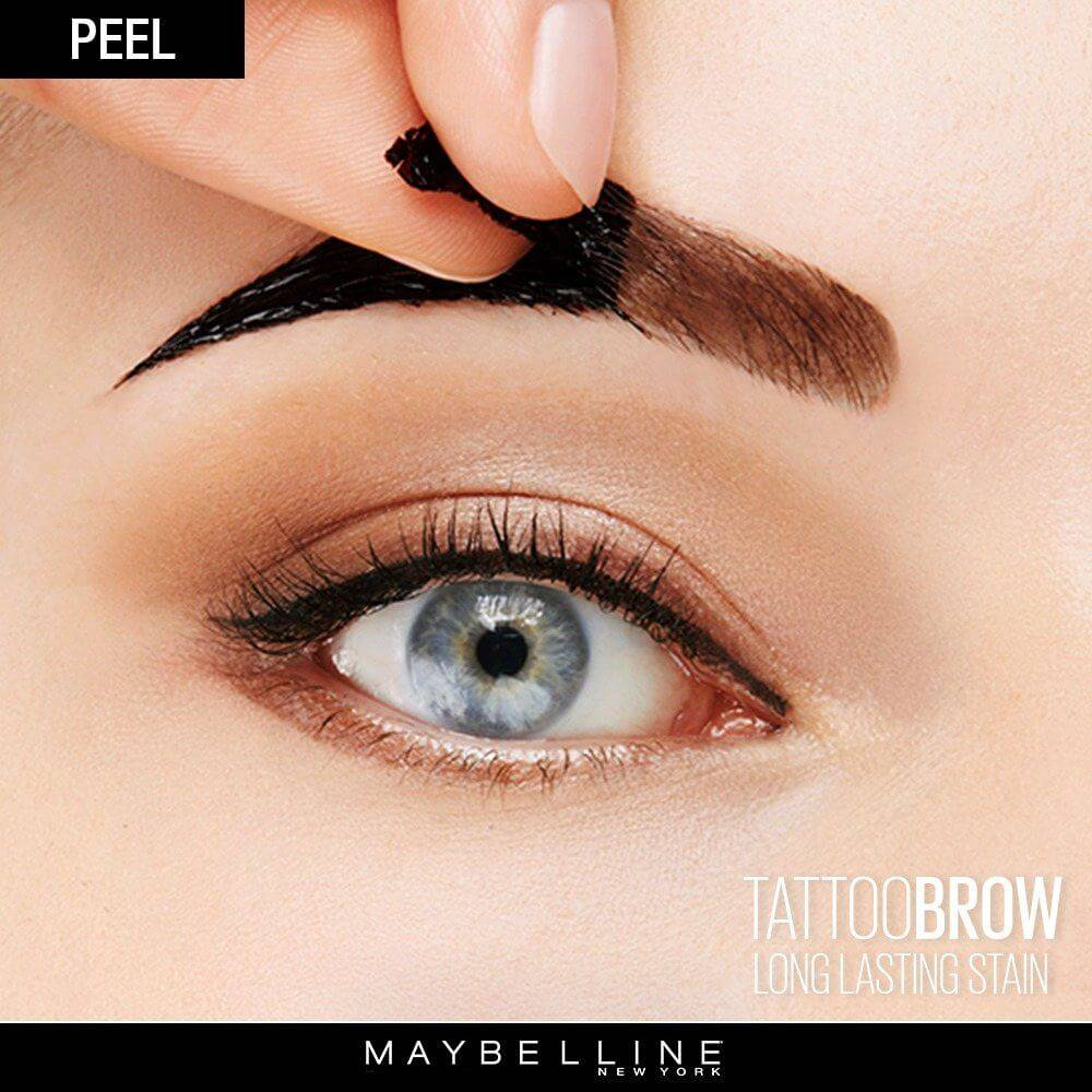 Tattoo Brow Peel Off Tinted Semi-Permanent Eyebrows