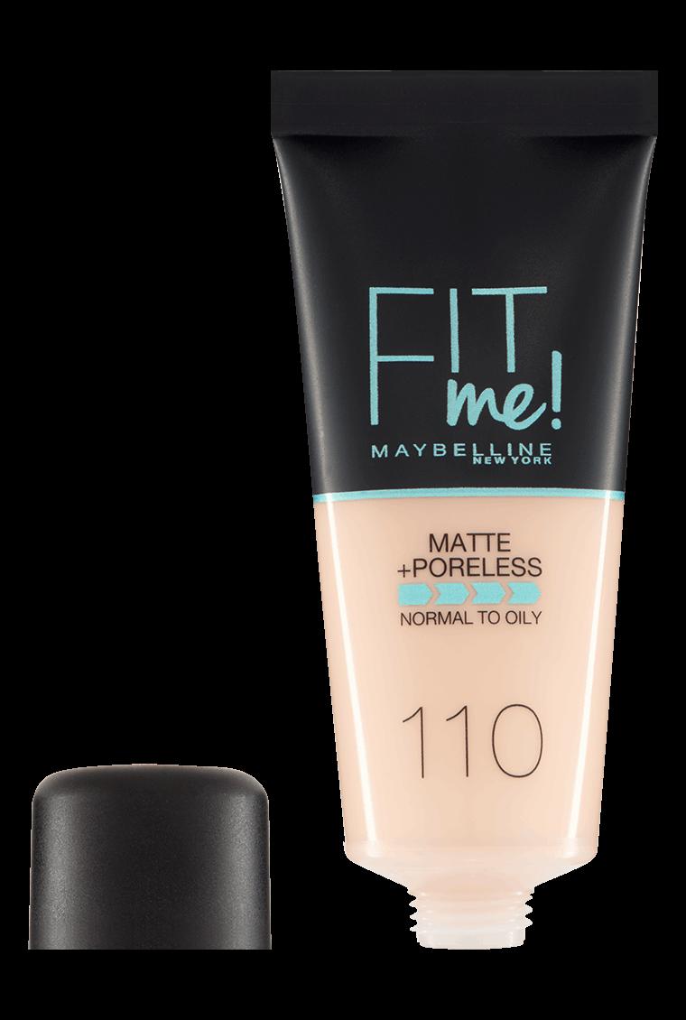 Fit Me Matte Poreless Foundation Foundation Maybelline